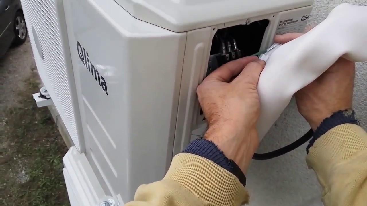 aire acondicionado manos